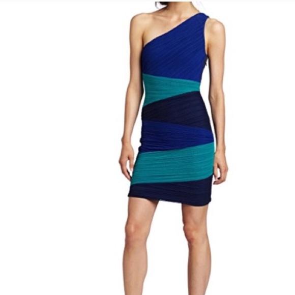 0f85fb4d5ad BCBGMaxAzria Dresses   Bcbg Maxazria One Shoulder Kira Dress   Poshmark